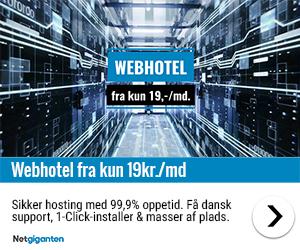 Webhoteldk - Netgiganten - webhotel