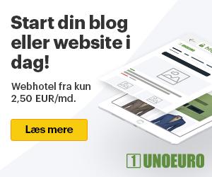 Webhoteldk Unoeuro biligt webhotel