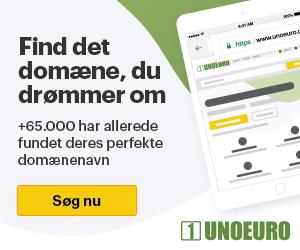 Webhoteldk - Unoeuro - webhotel - banner